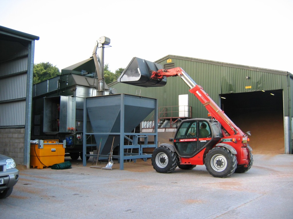 Mobile Alvan Blanch Drier